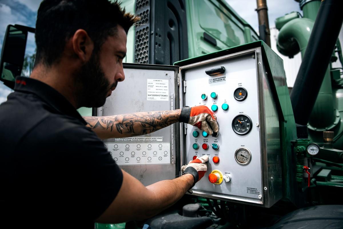 Zum Projekt: Geiger SAM-Truck